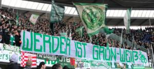 """18. Spieltag H96 vs. SVW """"Werder ist Grün-Weiß!"""""""
