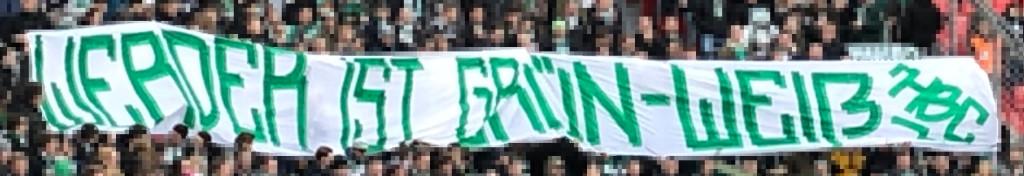 """26. Spieltag B04 vs. SVW: """"Werder ist Grün-Weiß!"""""""