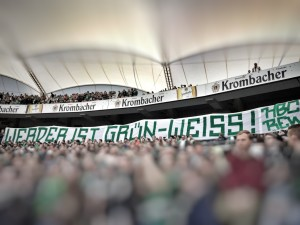"""6. Spieltag VFB vs. SVW """"Werder ist Grün-Weiß!"""""""