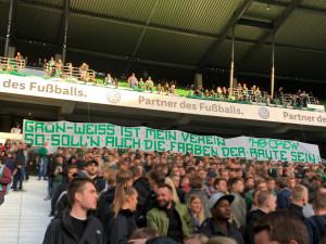 """5. Spieltag SVW vs. HBC """"GRÜN-WEISS IST MEIN VEREIN SO SOLL'N AUCH DIE FARBEN DERRAUTE SEIN!"""""""