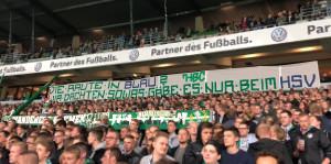 """7. Spieltag SVW vs. WOB """"Die Raute in Blau? Wir dachten sowas gäbe es nur beim HSV"""""""