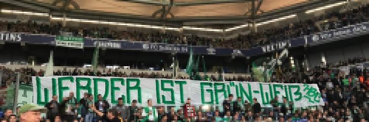 """8. Spieltag S04 vs. SVW """"Werder ist Grün-Weiß!"""""""