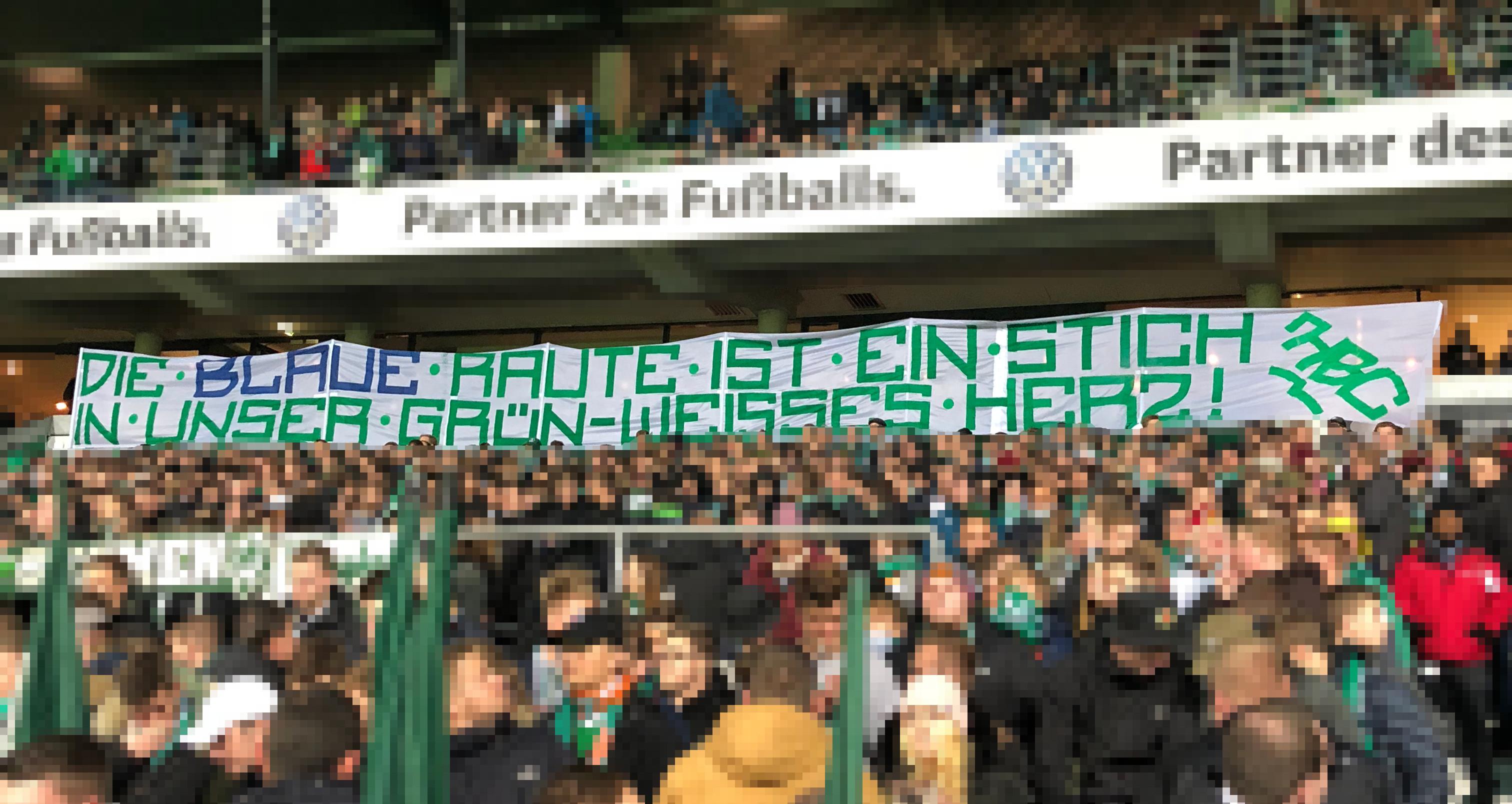 """9. Spieltag SVW vs. B04 """"Werder ist Grün-Weiß!"""""""