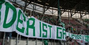 """4. Spieltag FCA vs. SVW """"Werder ist Grün-Weiß!"""""""