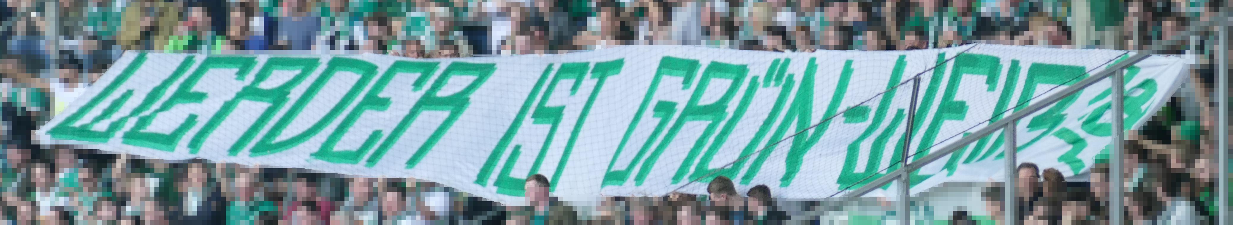"""28. Spieltag BMG vs. SVW: """"Werder ist Grün-Weiß!"""