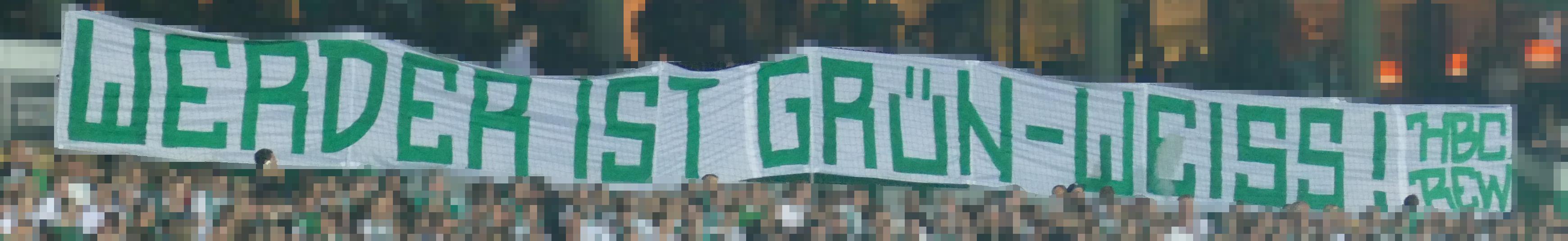 """Halbfinale DFB-Pokal SVW vs. FCB:  """"Werder ist Grün-Weiß!"""